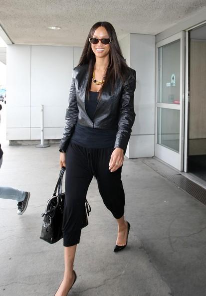 Tyra Banks handbags