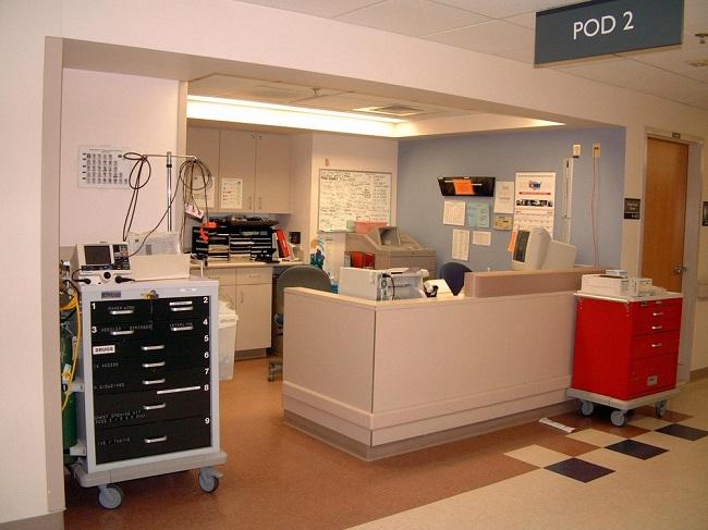 hospital medication carts