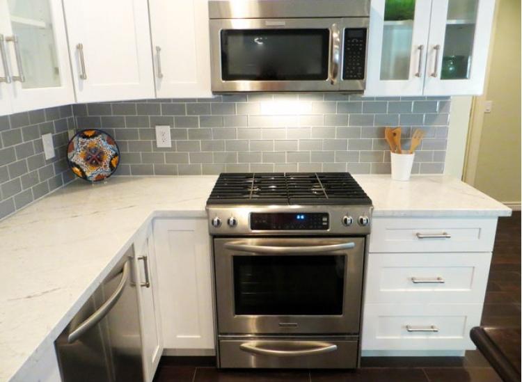 white shaker rta kitchen cabinet