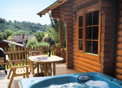 Aymestrey Lodges in Herefordshire