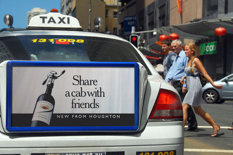 taxi ad