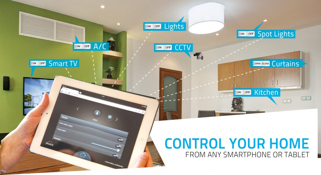 alternative uses of home automation system