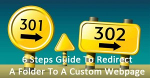 redirection of webpage