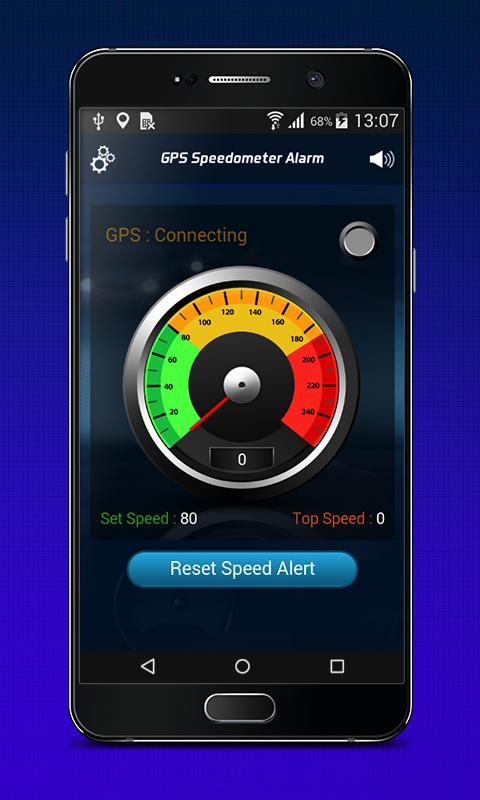 An intelligent speed detector app but also an entertainment app