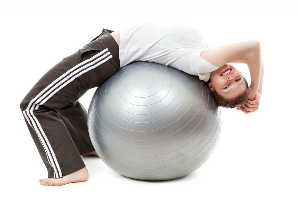 Ball crunch