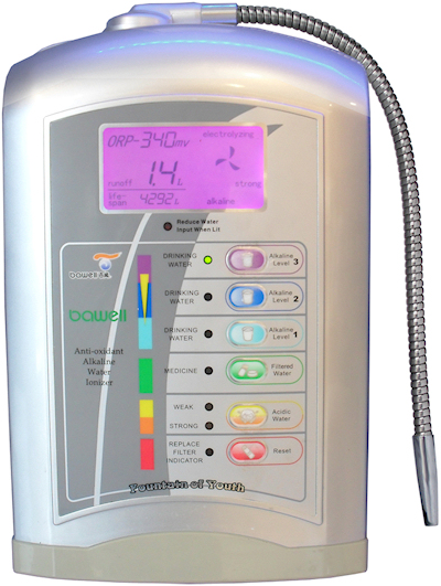 Product Review: Bawell Premier Alkaline Water Ioniser Machine