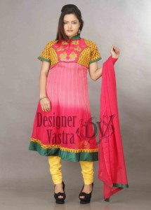Shaded Georgette Anarkali Suits for Women