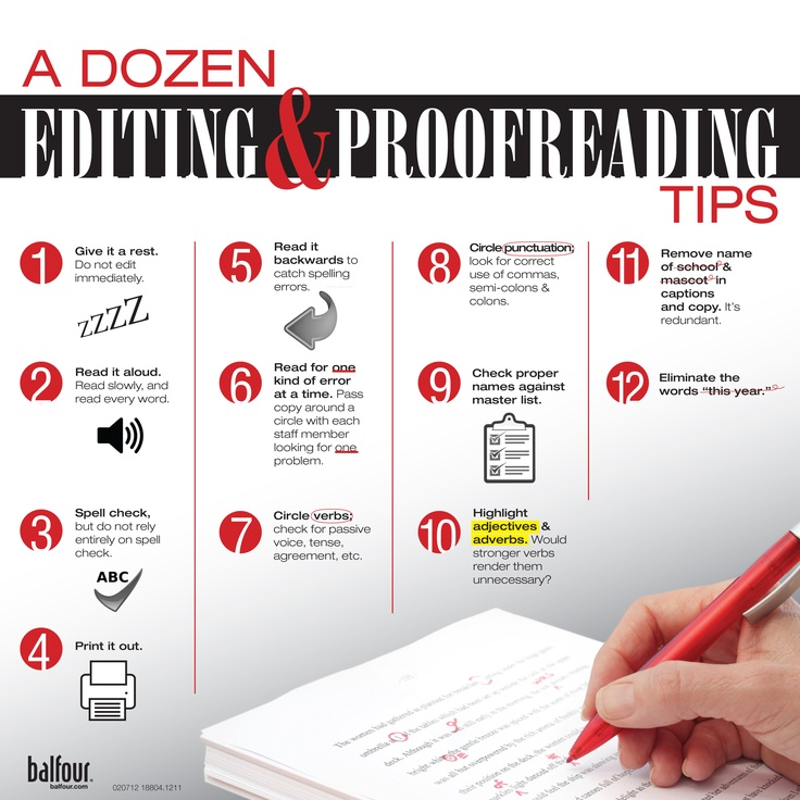 Ten Ways to Get Better at Proofreading