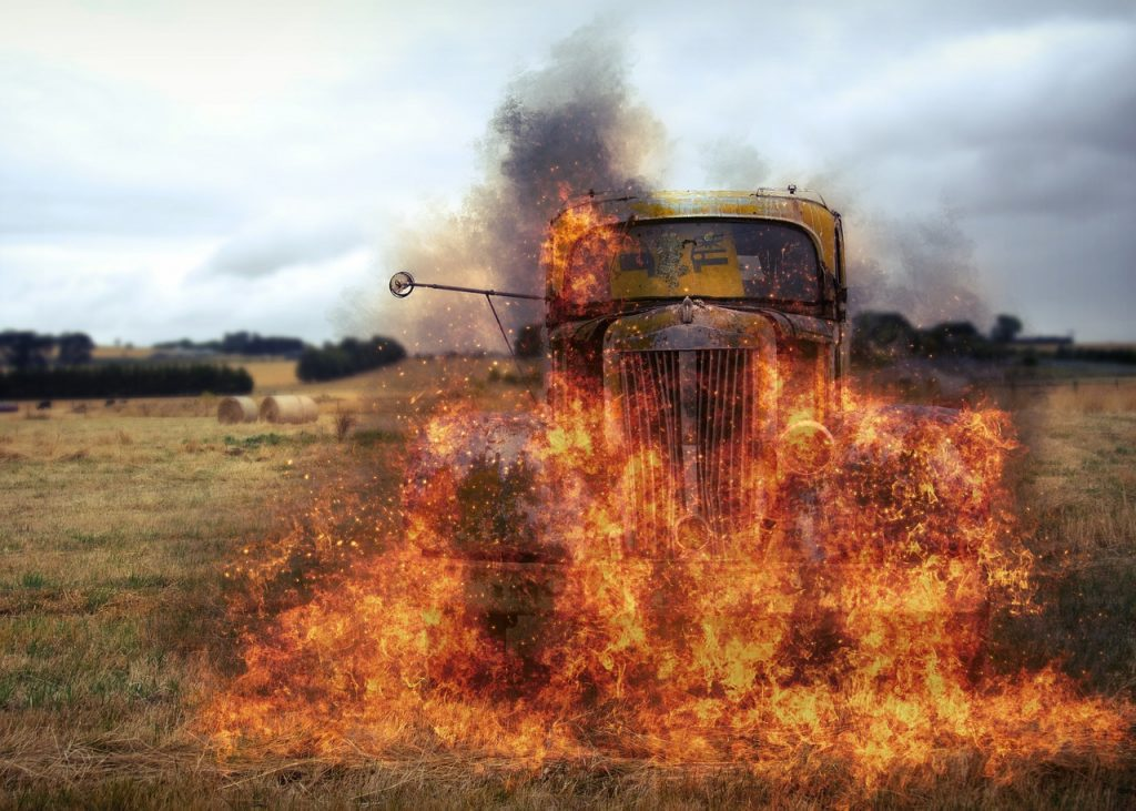 5 Common Causes of Truck Fire