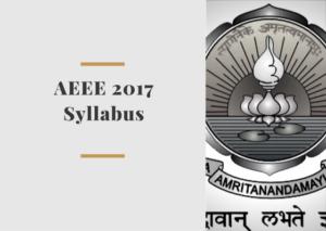 AEEE-2017-Syllabus