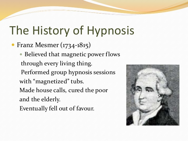 Hypnosis in the 19th Century
