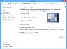 Windows 8: What to do if texts and desktop icons are too small
