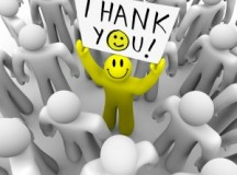 """To Say """"Thank You"""" is to Express Gratitude"""
