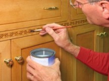Can't Paint Your Kitchen Cabinets? Reface!