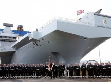 UK's Royal Navy Carrier Named in Honor of Queen Elizabeth II