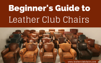 Beginner's Guide to Leather Club Chairs