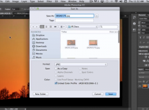 Choosing a File Format and Saving Files in Photoshop
