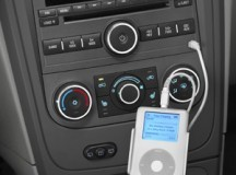 Connect iPod to the car steareo system