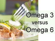 Omega 3 vs. Omega 6