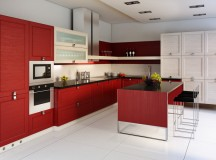 How Laying Red Surface Tiles Can Reinvigorate your Kitchen Space