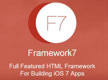 Framework 7: HTML Framework to build iOS7 Apps