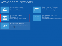 How to Restore a System Image in Windows 8