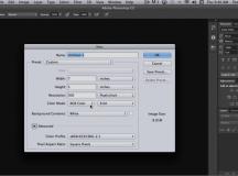 Understanding Document Settings in Photoshop