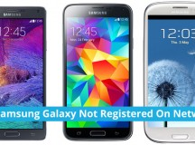 How To Fix-Samsung Galaxy Not Registered On Network Error