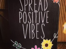 Express Yourself with Aim Attitude and Spread Optimistic Vibes