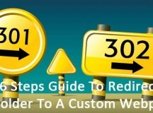 6 Steps Guide To Redirect A Folder To A Custom Webpage