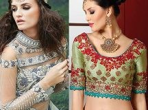 10 Blouse Inspirations for the Wedding Season in India