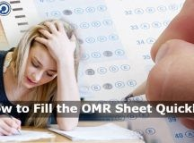 How to Fill the OMR Sheet Quickly?