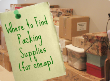 Where to Get Cheap Packing Supplies