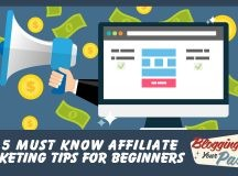 5 Top Tips for Affiliate Marketing