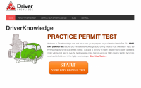 DriverKnowledge: Website Review
