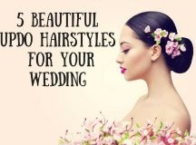 5 Beautiful Updo Hairstyles for Your Wedding