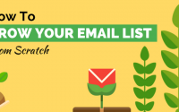 The Basic Steps to Building and Email List from Scratch [Infographic]