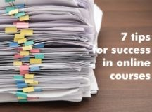 You Should Know About 7 Tips for Success in Online Courses