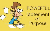 How to Write a Good Statement of Purpose