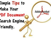 How to Make PDF Search Engine Friendly