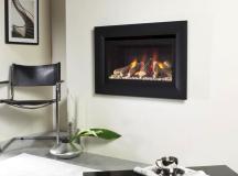 Balanced flue gas fires: Advanced chimneys
