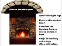 Update Your Old Fireplace in an Efficient Way