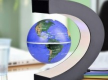 Product Review: C Shape LED World Map Décor Home Electronic Magnetic Globe Antigravity