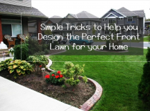 Simple Tricks to Help You Design the Perfect Front Lawn
