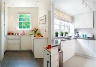 Easy Ways to Make Your Tiny Kitchen Look Bigger