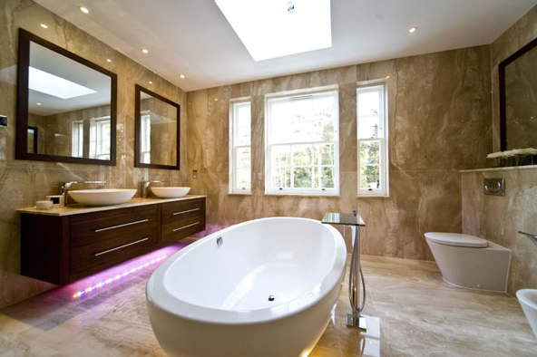 Five Ways To Make Your Bathroom a Palace