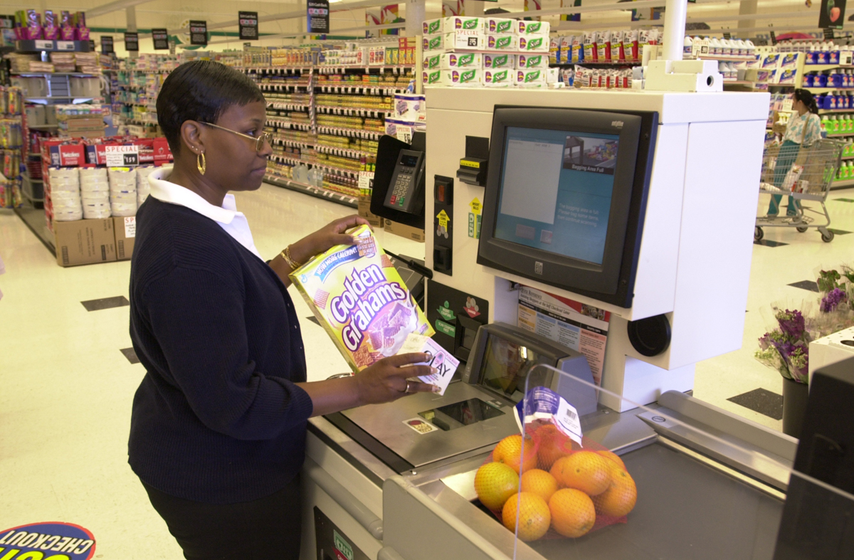 Self Checkout Machines A Solution For The Increasing Theft