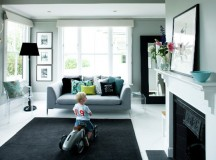 Black & White Interior Design Tips: Create Strong Focal Points