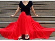 6 Stylish Ideas for Long Skirts