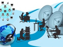 How does Technology assist the Call Center Industries?